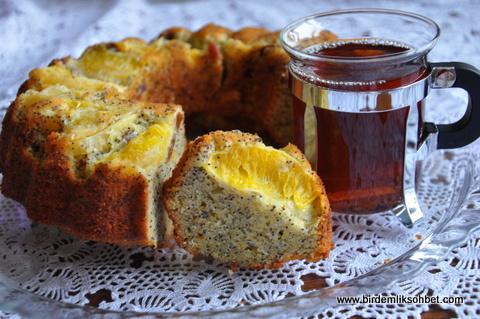 hashaslı portakallı kek (2)