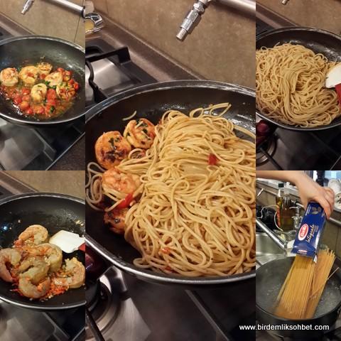 Jumbo Karidesli Tam Bugday Spaghetti 2