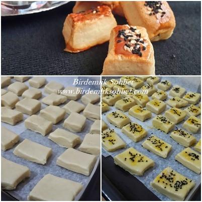 tuzlu pastane kurabiyesi  hazırlık foto