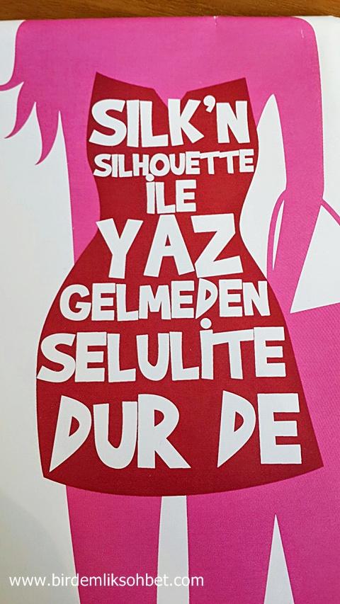 Silk'n Silhouette  yaza merhaba