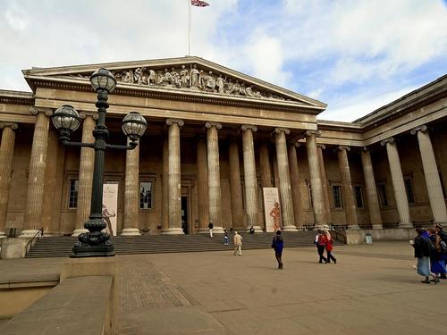 British+Museum+Entrance