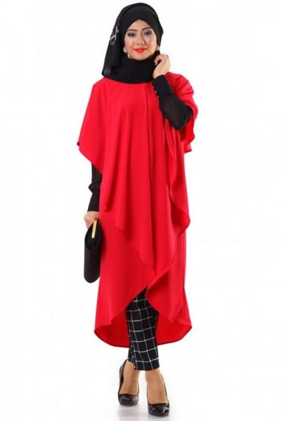 saadet-le-moda-fusya-asimetrik-pelerinli-yelek-21329-81-O
