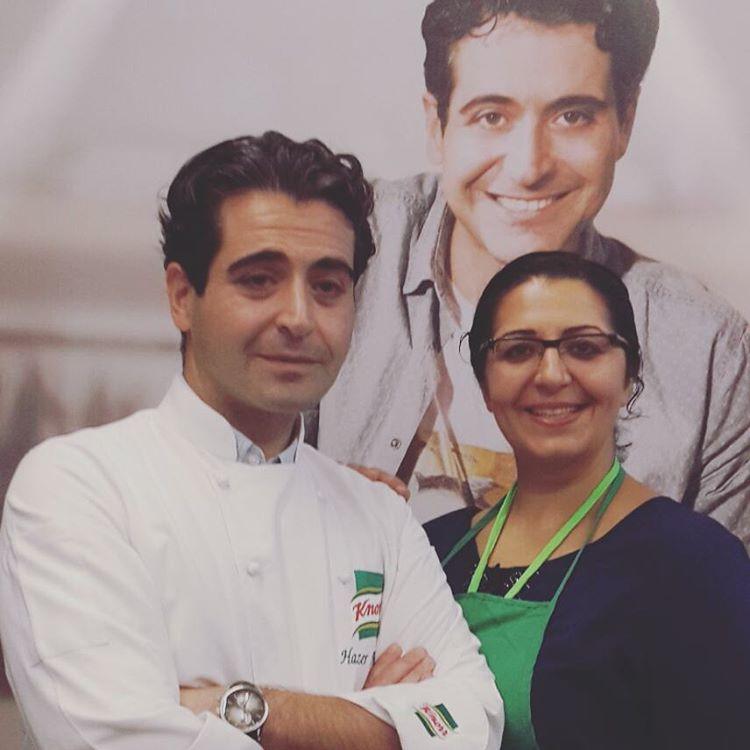 Hazer Amani ile #mutfaktabuluşalım diyoruz ☺ @herkessofraya #herkessofraya #knorr