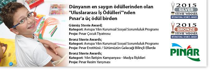 pınar süt ödül