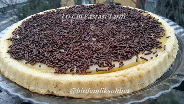 Eti Cin Pastası Tarifi 2